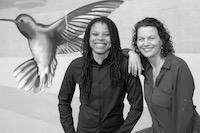 Tyecia Powell and Susan Comfort